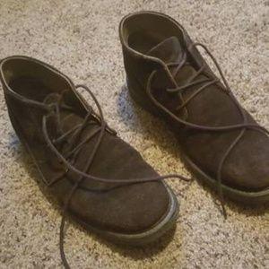 Calvin Klein Men's Brown Chukka Boots